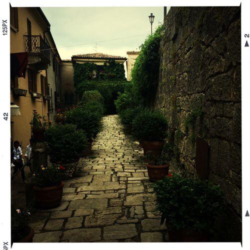 Итальянская улочка First Eyeem Photo