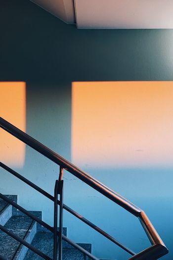 Sunset Stair