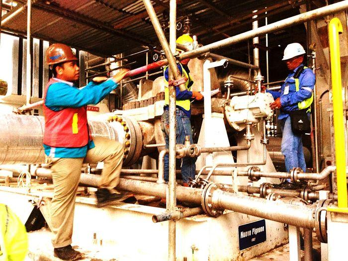 The A team : High Pressure Pump First Eyeem Photo P2bproject Engineering Rekind INDONESIA