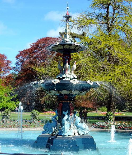 Peacock Fountain Peacock Fountain