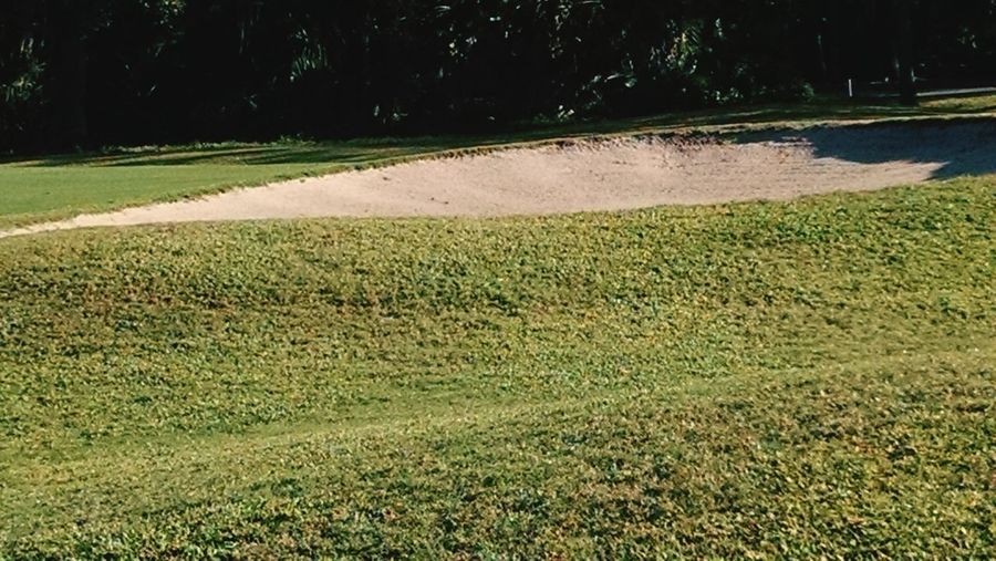 Sand Trap On Golf Course Golf East Lake Woodlands Golf Course, Oldsmar, FL Nature Photography Golf Course Beauty Golf Course Photography Grass Outdoors Nature Field Sport Beauty In Nature Golf Course An Eye For Travel Summer Exploratorium Visual Creativity