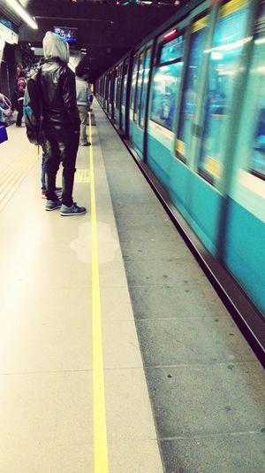Amo el Metro de Santiago... ILoveMyCity Ilovemyplace.