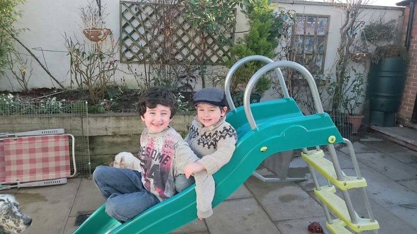 Double Trouble Taking Photos Check This Out Enjoying Life Prouddad Sons Family Love Happy Mykids