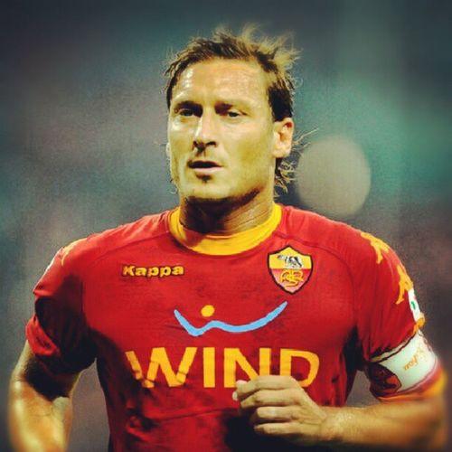 Happy birthday TOTTI il grande capitano ASRome 35 years and always shining :-)