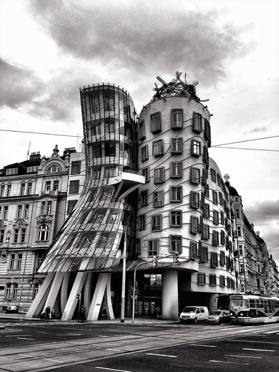 Dancing House Architecture Urban Geometry Mission Prague