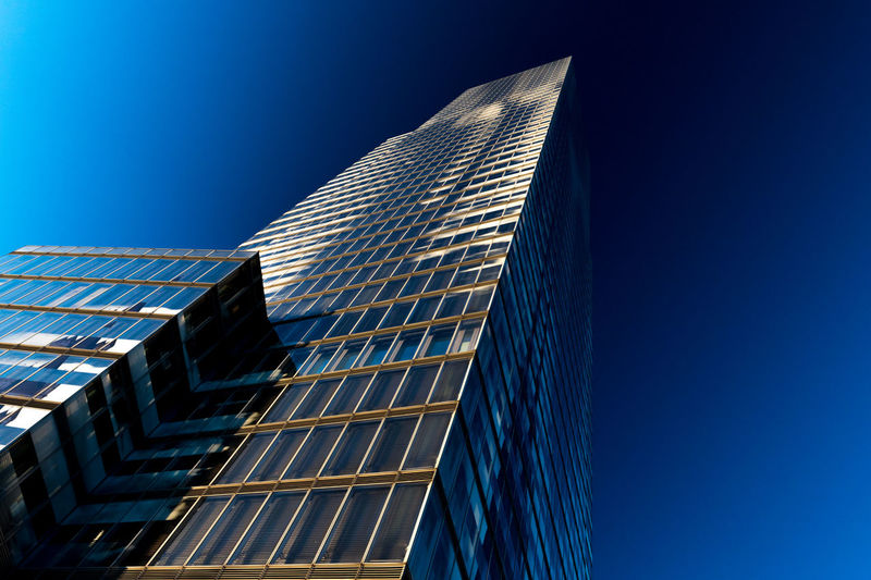 Architecture Cityscape Modern Modern Architecture Architecture Blue Building Building Exterior Built Structure City Clear Sky Day Glass Glass - Material Glass Architecture Low Angle View Modern No People Office Office Building Exterior Outdoors Sky Skyscraper Tall - High Tower