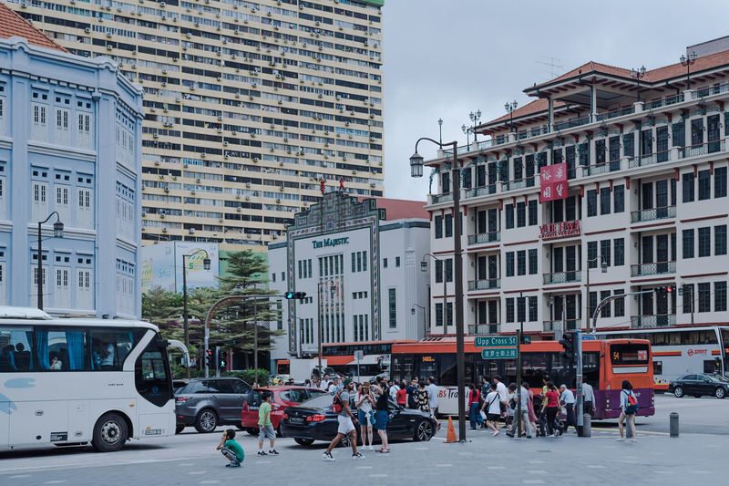 activities on street in Chinatown Singapore. ASIA Chinatown Chinatown, Singapore Singapore Singapore View Travel Architecture Building Exterior City City Life Group Of People Historic Building Mode Of Transportation Singapore City Singaporestreetphotography Street Transportation The Street Photographer - 2018 EyeEm Awards EyeEmNewHere The Architect - 2018 EyeEm Awards