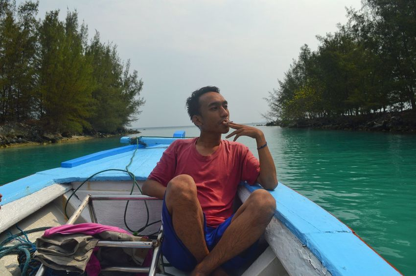 Picturing Individuality On A Boat On A Holiday Holiday Holiday POV Relaxing Taking Photos Enjoying Life Just Shoot Nature Nature Photography Beautiful Nature Capturing Freedom EyeEm Indonesia