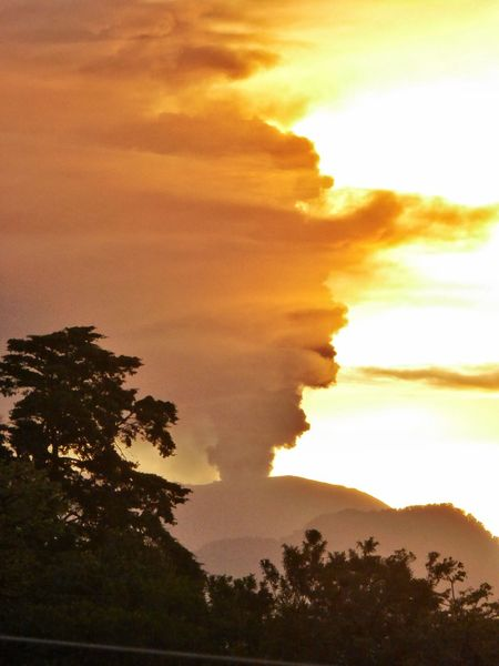 Capture Tomorrow Cloud - Sky Dramatic Sky Good Morning Morning Sky Volcan Turrialba Sunrise Behind Volcano Sunrise And Clouds Costa Rica Eruption Volcano