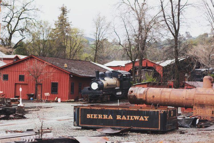 Sierrarailway Jamestown Ca California Mauderndayphotography Norcal Countryside Trainstation Railwaystation Adventurous