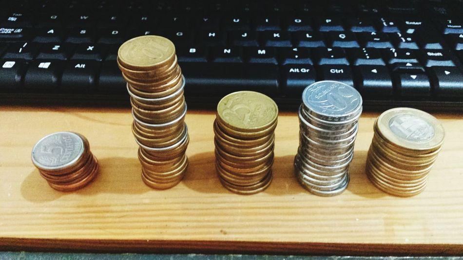 Ostentação (versão moeda)! Kkkkkkkkk Ostentação Moedas