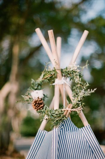 Christmas Decoration Close-up Day Film Photography Focus On Foreground Freshness Nature No People Outdoors Wreath
