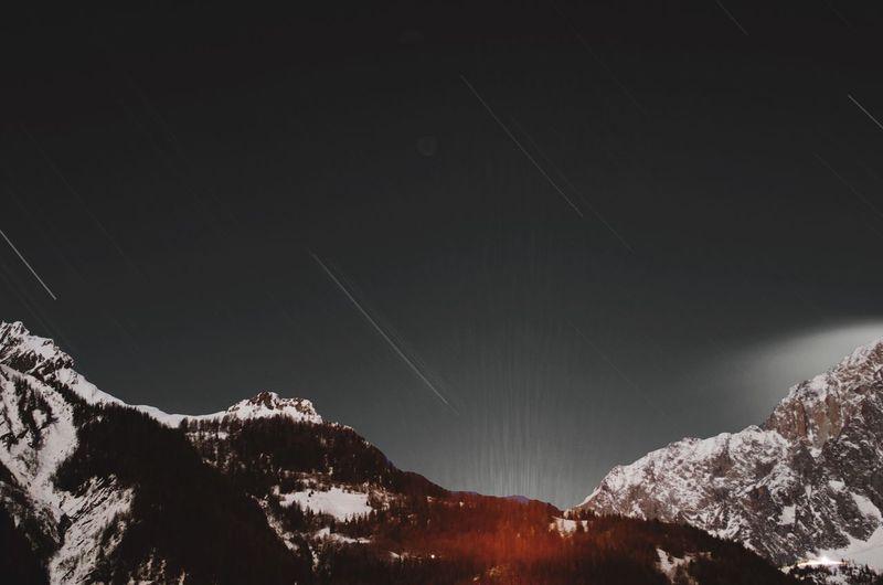 Sky Night Stars Funphoto