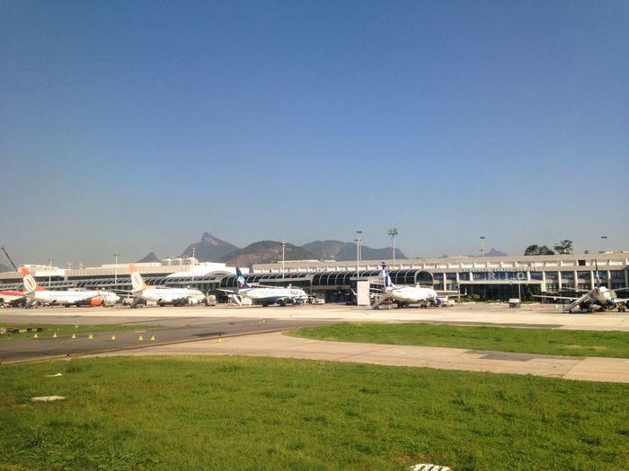 Aeroporto Santos Dumont Rio De Janeiro Brazil Airport Rio Corcovado Aeroporto Brasil Aviation