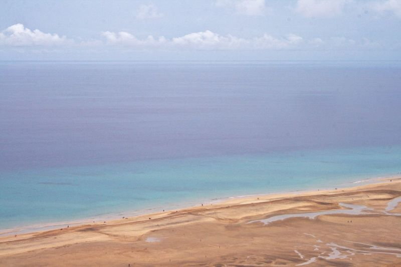 Beautiful Beach Sea Fuerteventura Enjoying The View The Calmness Within Nature From My Point Of View Relaxing Aerial Shot