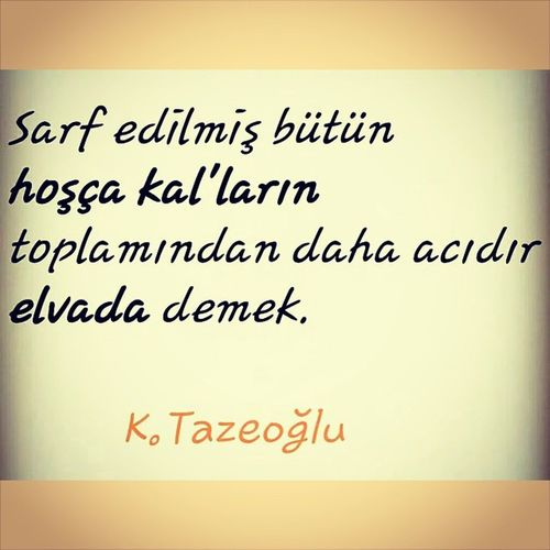 Kahraman_Tazeoglu Hoscakal Elveda Bitmeyen_hikayeler lifeisgrey instagram hayatakarken hayat_devam_ediyor ??