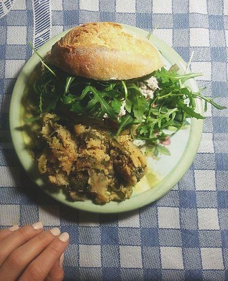 Buona cena pinguini! :* Dinner Cena Vegan Vegano Fit Diet Dieta ? Verdure Tofu Seitan Fame Vegetables Nailpolish Soymix