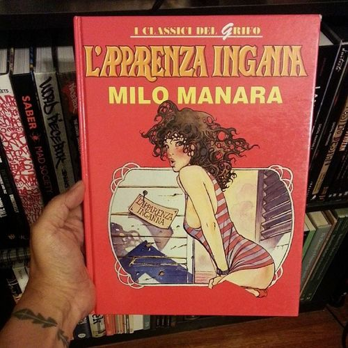 If you don't know about Milo Manara you ain't about this life! SequentialArt
