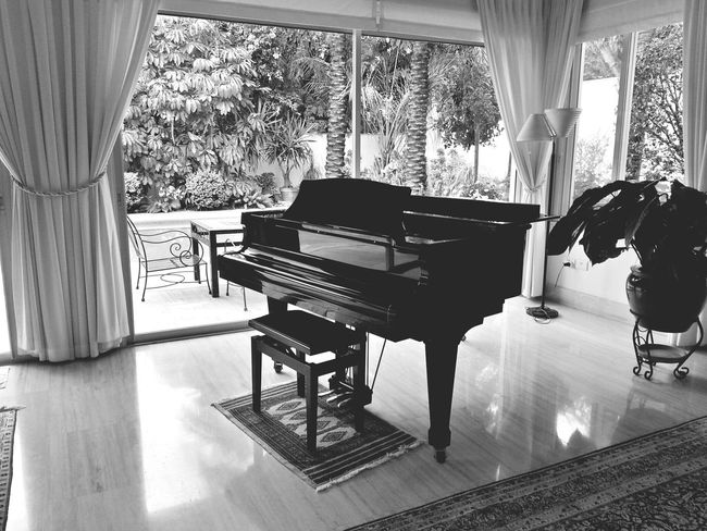 Taking Photos Black & White Monochrome Elegance Everywhere Piano