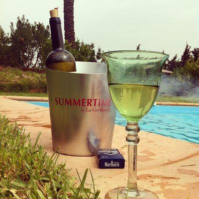Summer Pool Drink Summertime Tunisia Vin Bahja Idreamoftunisia Instagramtn Stounsi