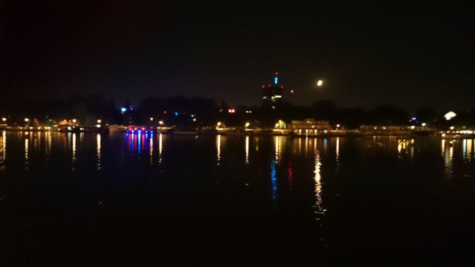 Belgradenight ušće Night Lights Sava Reflection Water reflections