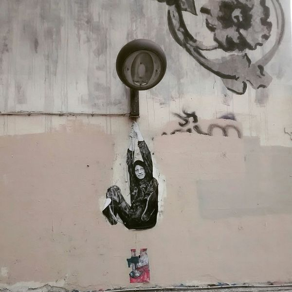 Urban 4 Filter Graff Urban acrobatie Lampadaire grey Wall mur