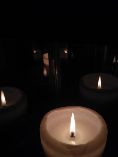 Candle Burning Indoors  Black Background Illuminated Magical Magical Moments Candles Burning Witchy Wicca  Magical moment with my friend at coven.