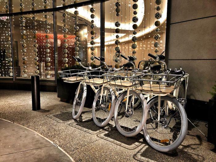 Be. Ready. Modern Window Bikes Holidays Holiday Biking Holiday Decorations