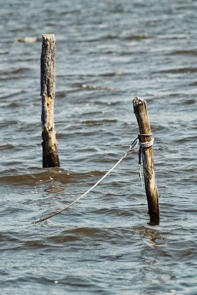 Niklas Storm Maj 2018 Water Sea Wood - Material Close-up Wooden Post
