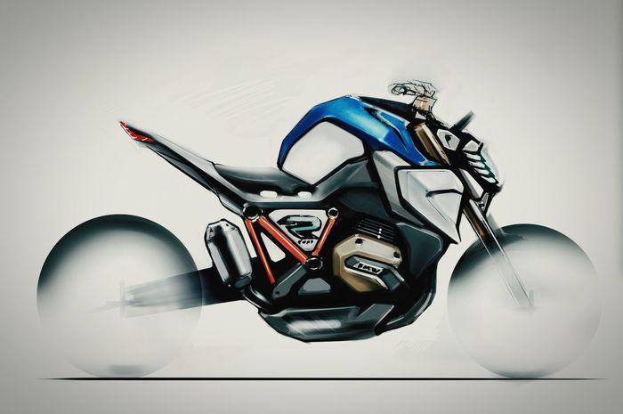 BMW Motorrad Design Sketch