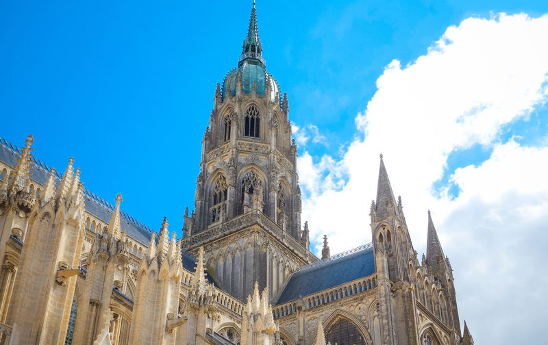 Architecture Blue Building Exterior Built Structure Capital Cities  Cathedral Church Cloud Day Famous Place High Section Low Angle View No People Outdoors Place Of Worship Religion Sky Spirituality Tall - High Tourism Travel Destinations