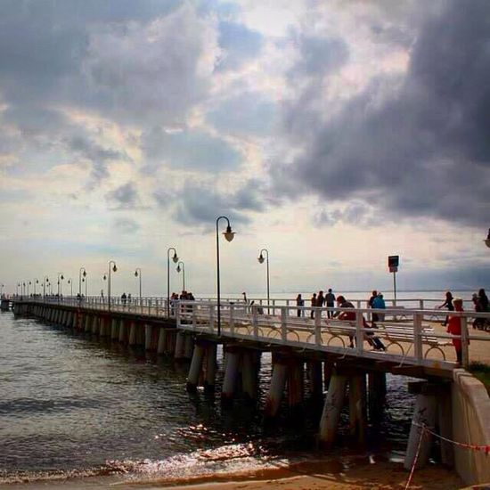 Molo Sea And Sky Sea Holiday Hello World Clouds And Sky Sky Clouds Travel Photography Cloud d Sky And Clouds Sky_collection Cloud_collection  Traveling Travelphotography