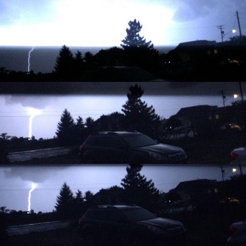 Utah Lightning Storm