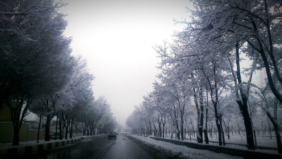 Capture The Moment Light And Shadow I Love My City Snow Snow ❄ Snow Day Iran♥ Arak Snow❄⛄