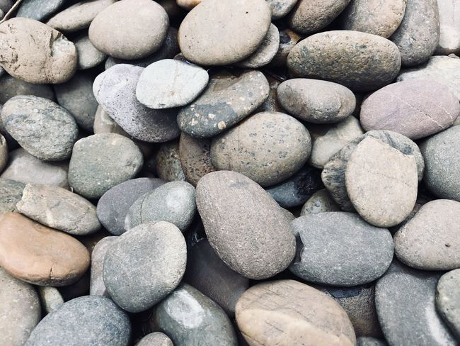 Abundance Backgrounds Beach Close-up Day Full Frame Full Frame Shot Grey Large Group Of Objects Nature No People Outdoors Pebble Pebble Beach Rocks