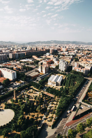 barcelona The Great Outdoors - 2018 EyeEm Awards City Cityscape Urban Skyline Skyscraper Aerial View Downtown District High Angle View Modern Sky Architecture TOWNSCAPE Rooftop Tiled Roof  EyeEmNewHere