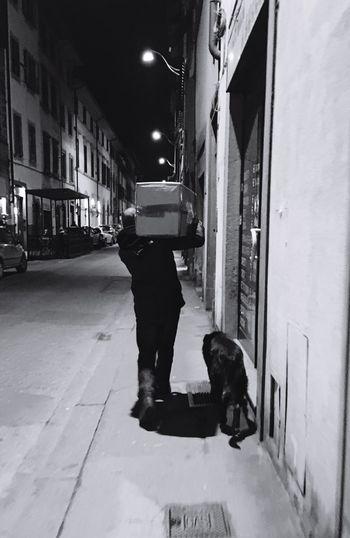 The Street Photographer - 2016 EyeEm Awards Florence Firenze Fido Dog Bestfriend Blackandwhite