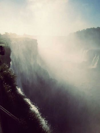 This planet is a beautiful place to live. My Planet Is Beautiful Love Earth Iguazu Falls Taking Photos Taking Pictures Casual Day Winter Day Hello World