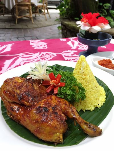 Grilled Chicken with Honey Saos.. Yummy 😋 Food Bali, Indonesia