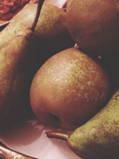 Fruits Pears Automn