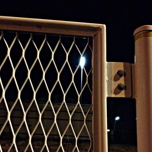 Close-up of closed gate