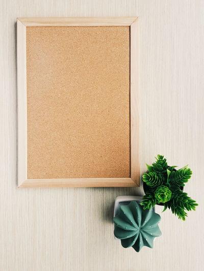 A blank wooden board