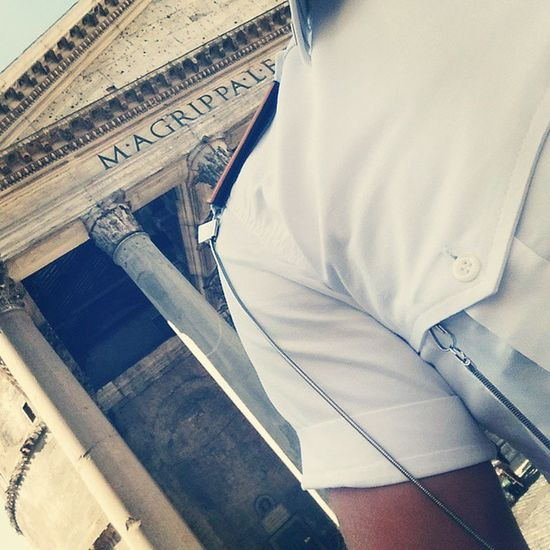 Work Pantheon Rome Romepolice LocalPolice Italy Summer Monuments LOVES_ROMA_ Style Mode Roma Romans Columns Igersroma Instarome Loves_monuments Day Saturday Morning Life Lifestyle