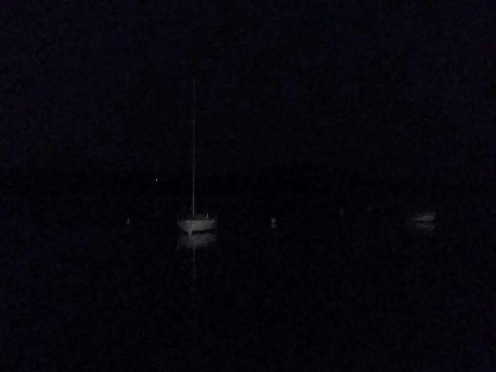 Notturno 2. Lago Viverone's Lake Ormeggio Barche Beauty In Nature Scenics Outdoors Water No People Night Tranquil Scene Space