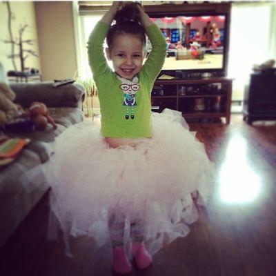 In her super cute Tutu her Aunt Alezia made her. @alezia812