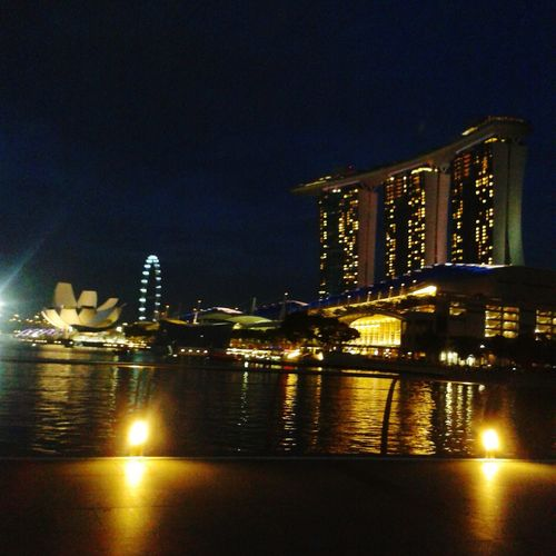 beautiful night Marinabaysands Nightview Night Photography Nightlights Nightsky