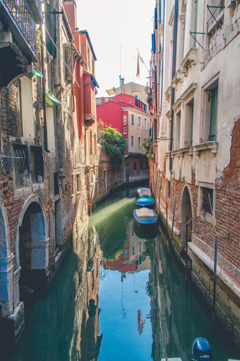 #Venice #italy #travel #travelphotography Arch Bridge Architecture Building Building Exterior Built Structure Canal City Day Incidental People Mode Of Transportation Nature Nautical Vessel Outdoors Reflection Residential District Transportation Water Waterfront Window Summer Exploratorium