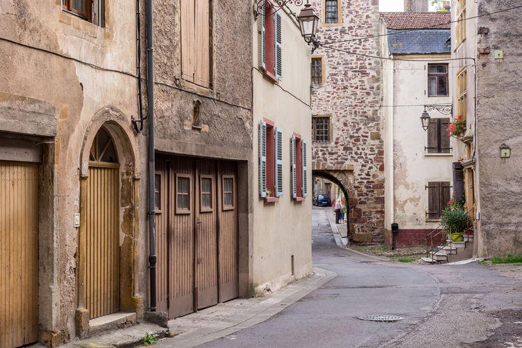 Alley Arch Architecture Between Building Building Exterior Built Structure City City Life Day Long Lothringen Medieval Narrow Old Town Outdoors Pathway Residential Building Residential District Residential Structure Street The Way Forward
