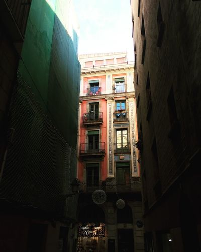 Barrio Gótico Architectural Detail Barcelona España🇪🇸 SPAIN