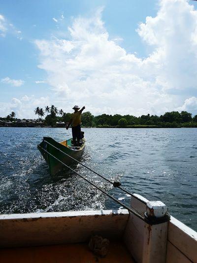 Mr. Moa Join our Trip Fisherboat Fisherman's Friend Local Guide Nice People  Kaledupa People Happy Traveling Wakatobi Island